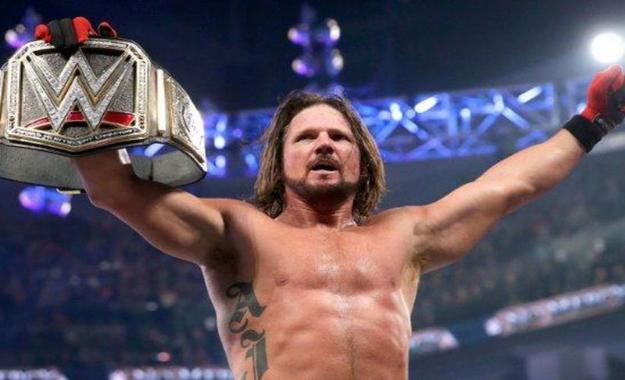 AJ Styles un mal campeón de la WWE