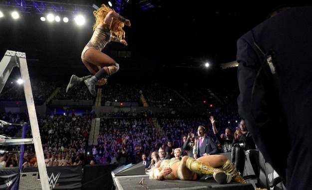 ¿Por qué Becky Lynch retuvo el campeonato femenino de Smackdown en WWE Evolution?