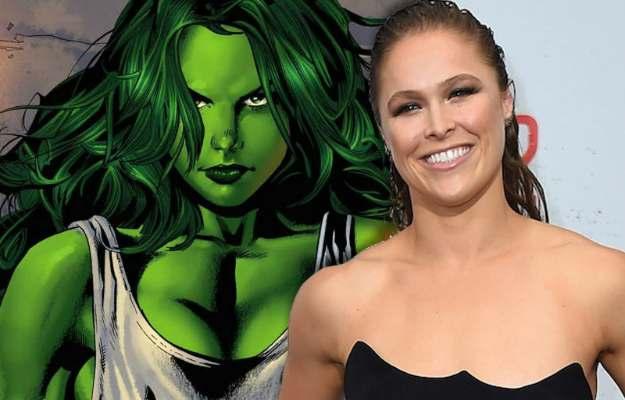 ¿Ronda Rousey interpretando a Hulka en la futura serie de She-Hulk de Disney+_