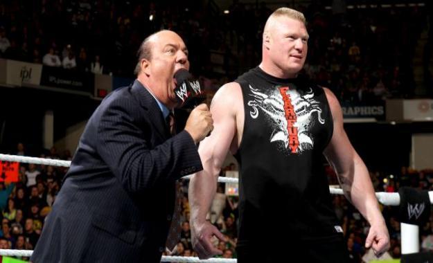 ¿Siguen Brock Lesnar y Paul Heyman bajo contrato con la WWE?