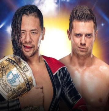 Shinsuke Nakamura se enfrentará a The Miz en WWE Clash of Champions