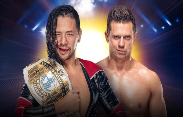 Shinsuke Nakamura se enfrentará a The Miz en WWE Clash of Champions