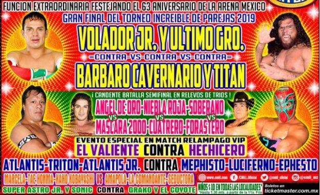 63 Aniversario de la Arena México