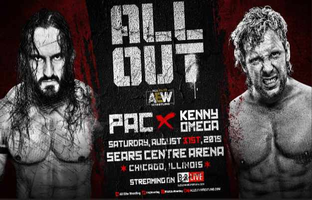 AEW All Out PAC vs Kenny Omega (1)