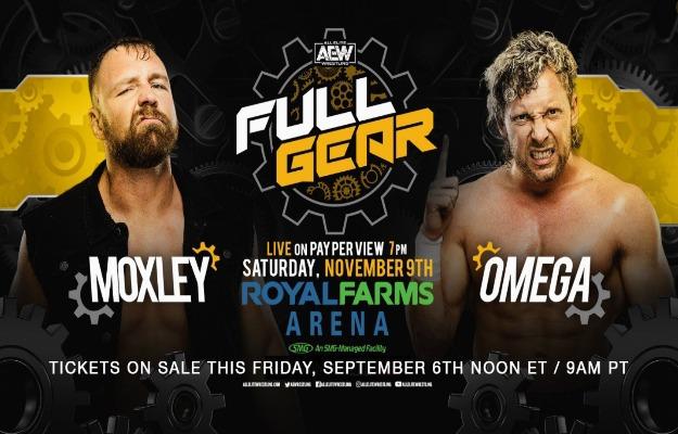 AEW Full Gear Jon Moxley vs Kenny Omega confirmado