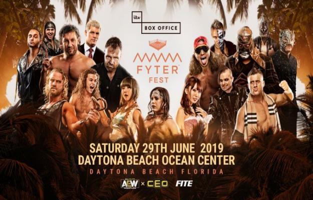 AEW Fyter Fest (Cobertura y resultados en directo)