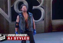 AJ Styles NXT