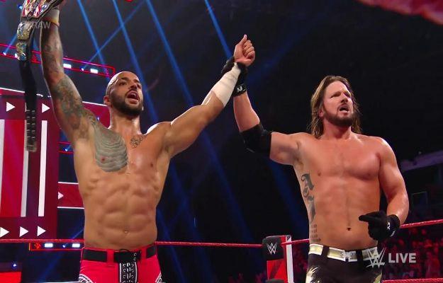 AJ Styles vence a Ricochet en WWE RAW