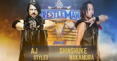 AJ Styles quiere que su combate con Nakamura en WWE sea algo grande