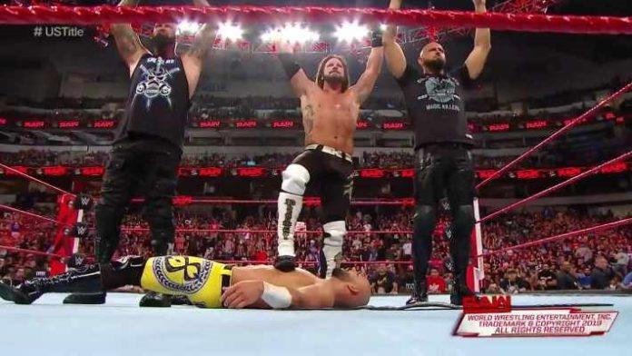 AJ Styles realiza un heel turn contra Ricochet con la ayuda de The Club en WWE RAW