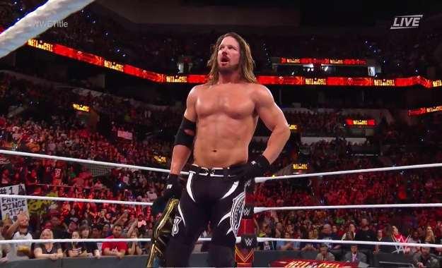 AJ Styles alcanza un gran hito como WWE Champion