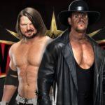 AJ Styles vs The Undertaker en Wrestlemania 35