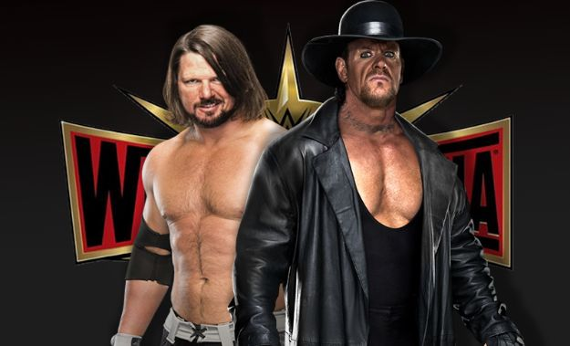 AJ Styles vs The Undertaker en Wrestlemania 35