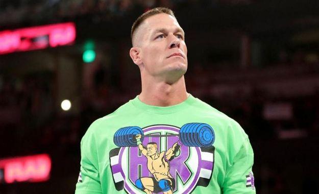Actualización del calendario de John Cena con WWE en 2019