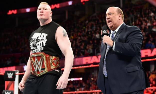 Actualización del posible combate de Brock Lesnar en Wrestlemania 35