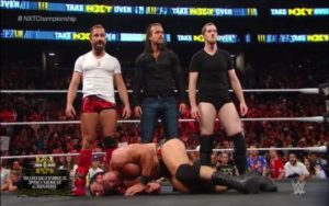 Adam Cole hizo su debut en NXT Takeover Brooklyn III