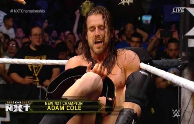 Adam Cole nuevo NXT Champion en Takeover 25
