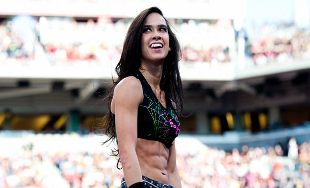 Aj Lee levanta pasiones para estar en el WWE Evolution de Octubre