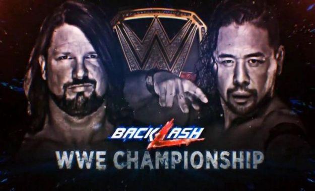 Aj Styles vs Shinsuke Nakamura en WWE Backlash Primeras apuestas de cara a WWE Backlash (6 de Mayo)