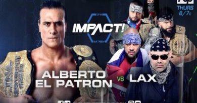"""Resultados de Global Force Wrestling """"Impact"""" del 27 de julio"""