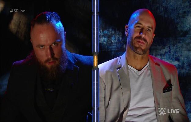 Aleister Black vs Cesaro confirmado para WWE Extreme Rules