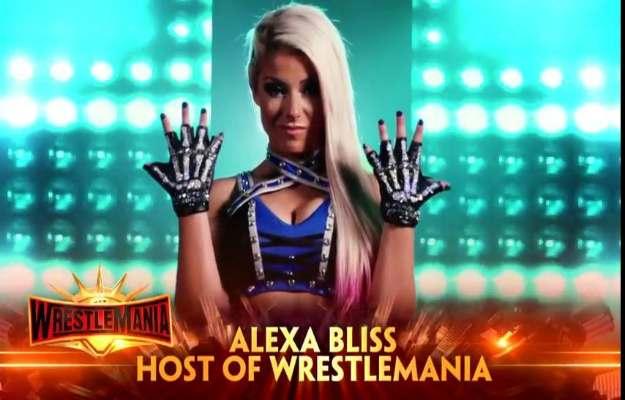 Alexa Bliss será la anfitriona de Wrestlemania 35