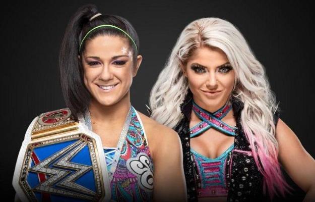 Alexa Bliss vs Bayley por el título femenino de SmackDown Live en WWE Extreme Rules 2019