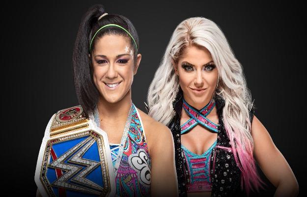 Alexa Bliss y Nikki Cross vs Bayley en un Handicap Match para WWE Extreme Rules