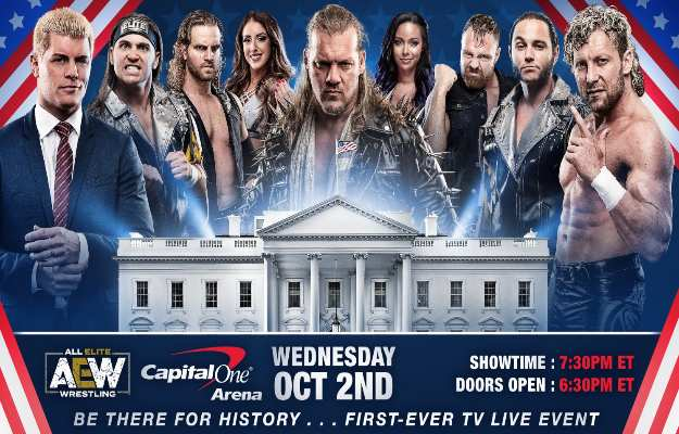 All Elite Wrestling confirma su fecha de estreno en TNT