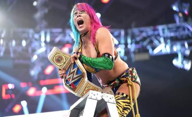Analisis WWE TLC 2018 Asuka gana el título femenil de SD en brutal TLC match