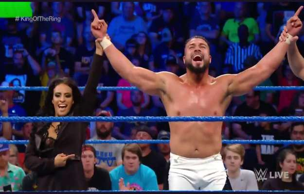 Andrade King Of The Ring WWE SmackDown Live