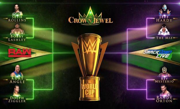 Anunciado el cuadro oficial de la WWE World Cup en Crown Jewel
