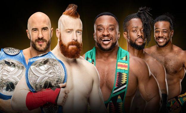 Apuestas para el campeonato por parejas de SmackDown en WWE Crown Jewel