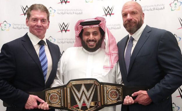 WWE Arabia Saudí