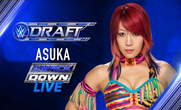 Asuka es trasferida a SmackDown Live en el Superstar Shake Up