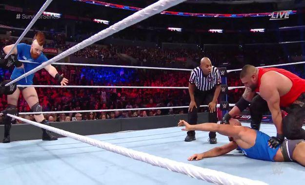 Authors Of Pain ponen el 3-0 para WWE RAW ante The Bar en Survivor Series
