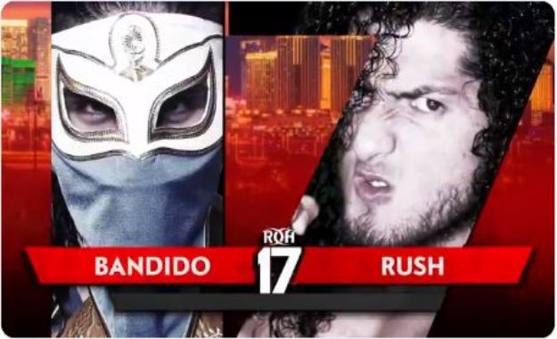 Bandido vs Rush en ROH