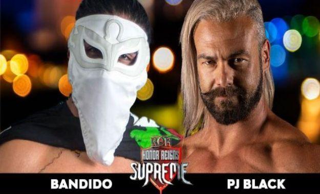 Bandido ya tiene fecha y rival para debutar en ROH