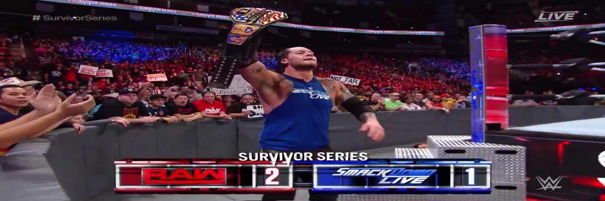 Baron Corbin WWE Survivor Series 2017
