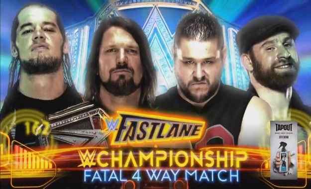 Baron Corbin luchará por el WWE Championhip en Fastlane