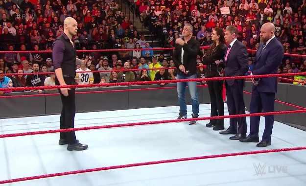 Baron Corbin oficialmente deja de ser manager general de WWE RAW