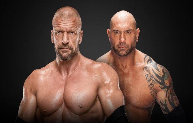 Batista se enfrentará a Triple H en Wrestlemania 35 en un No Holds Barred Match
