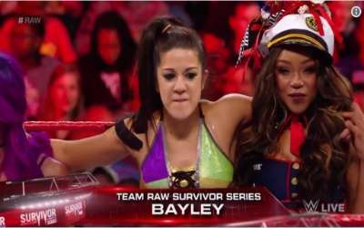 Bayley Team RAW Survivor Series 2017