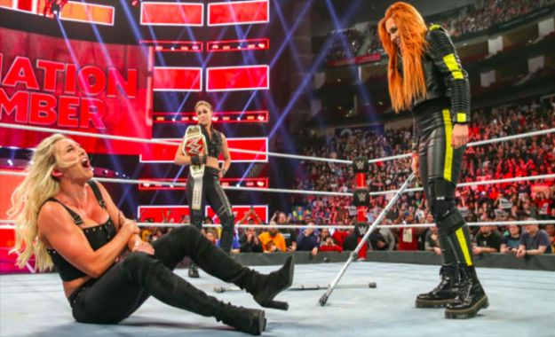 Becky Lynch Elimination Chamber