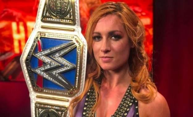 Becky Lynch podría perder el cinturón de Smackdown Live muy pronto.
