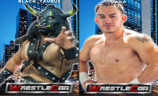 Black Taurus y Daga en WrestleCon 2019