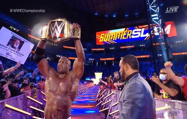 Bobby Lashley Retains WWE Title At SummerSlam 2021 - ActionPush