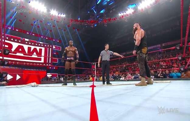 Bobby Lashley destroza a Braun Strowman en WWE RAW tras un Tug Of War match
