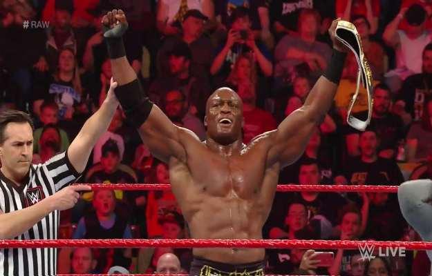 Bobby Lashley es el nuevo campeón Intercontinental