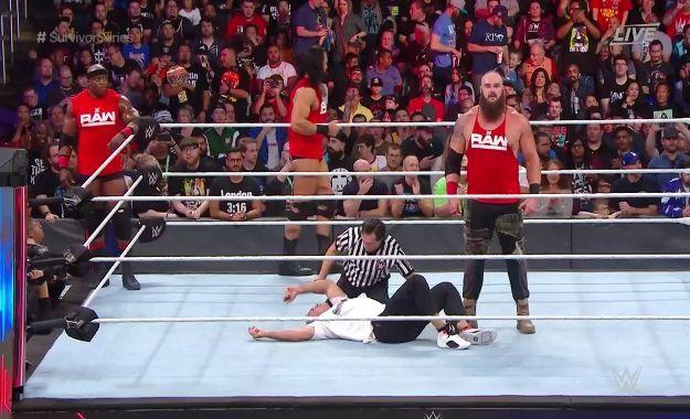 Braun Strowman le da la victoria al equipo masculino de WWE RAW en Survivor Series